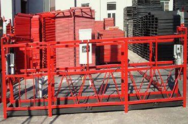 bygging hreinsun stöðvaður vinnuvettvangur zlp800 með 800kg hlutfall álags