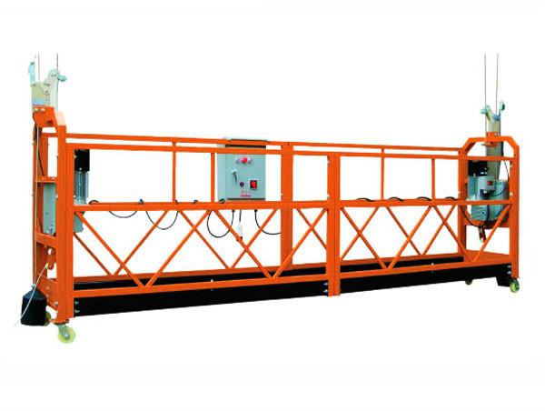 2,5M x 3 þættir 1000kg Hengilinn Aðgangur Platform Lyftihraði 8-10 m / mín