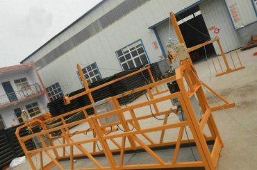 Áreiðanleg ZLP630 Málverk Stálhúðuð vinnuvettvangur fyrir byggingarbyggingu (2)